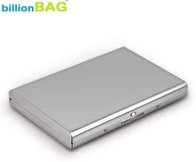 Billionbag Steel Plain Metal Business ATM 6 Card Holder