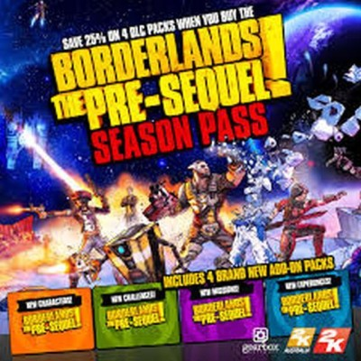 Borderlands: The Pre-Sequel + Season Pass with Game and Expansion Pack