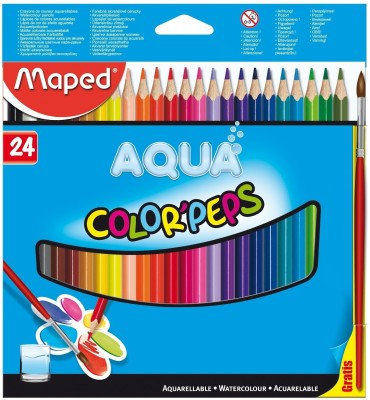 Maped Water Color Pep's Triangular Shaped Color Pencils