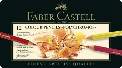 Faber-Castell Polychromos Round Shaped Color Pencils