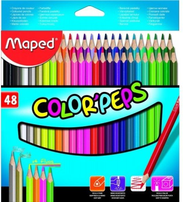 Maped Colorpeps Triangular Shaped Color Pencils