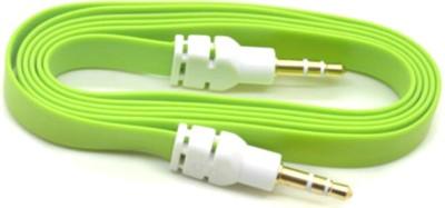 AutoKraftZ Premium Flat Style Aux Cable (Assorted Color) for Renault Pulse AUX Cable