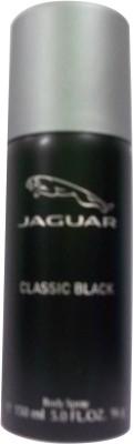 Jaguar Classic Black Deodorant Spray  -  For Men