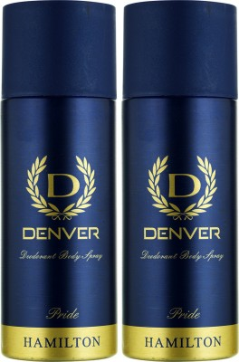 Denver Pride Deo Combo (Pack of 2) Body Spray Body Spray  -  For Men