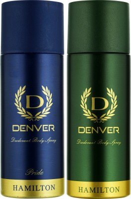 Denver Hamilton and Pride Deo Combo (Pack of 2) Deodorant Spray  -  For Men