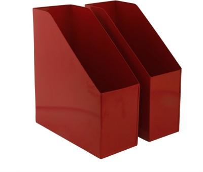 Elan 2 Compartments Metal File Racks
