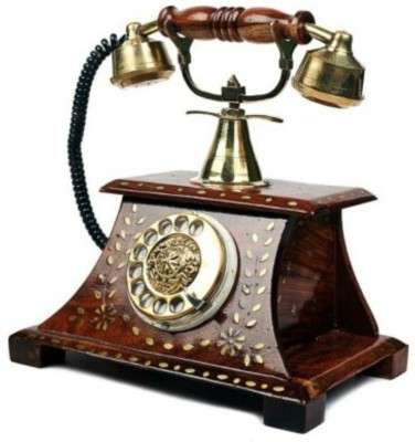 Antiqua Vgroup 1 Compartments WOODEN, BRASS telephone