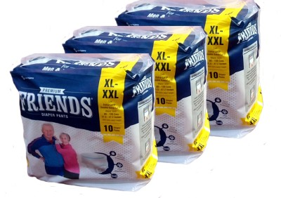 Friends PULL UPS / DIAPER PANTS PACK OF 3 - XL