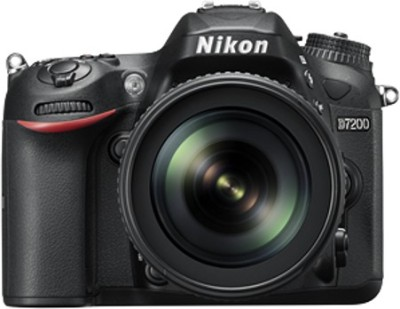 Nikon D7200 Body with AF-S 18 - 105 mm VR Lens DSLR Camera Body with Single Lens: AF-S 18 - 105 mm VR Lens (16 GB SD Card + Camera Bag)