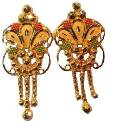 Sree SAMRIDDHI Yellow Gold 22kt Earring Set
