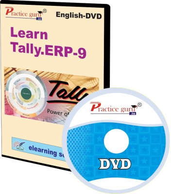 Practice Guru Tally.ERP 9 Video Tutorial DVD