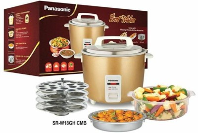 Panasonic SR-W18GH CMB Food Steamer, Rice Cooker