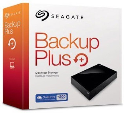 Seagate 6 TB Wired External Hard Disk Drive