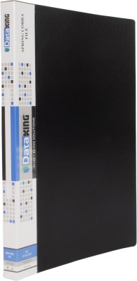 DataKing Polypropylene SPRING COBRA FILE, Set Of 3, Size: FC, Color: Black.
