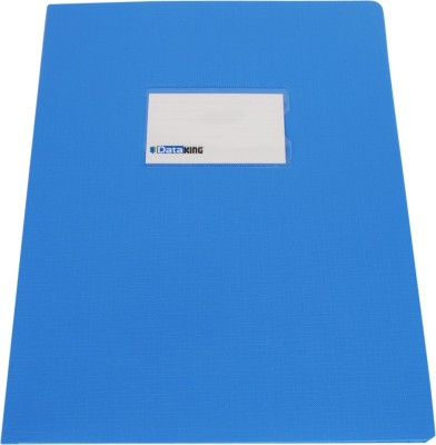 DataKing Polypropylene Presentation Folder With Name Card, Size A4, Color: Blue, Free Delivery.