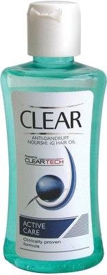 Clear Anti-Dandruff Active Care Nourishing  Hair Oil