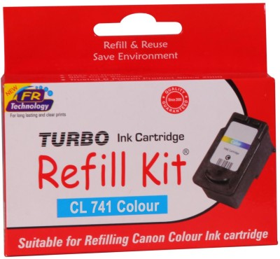 Turbo Ink Refill Kit for Canon Cl 741 Cartridge Multi Color Ink Cartridge