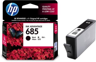 HP 685 Single Color Ink Cartridge