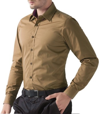 Being Fab Men's Solid Casual Multicolor Shirt