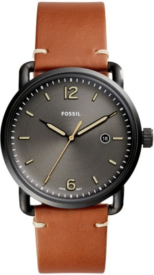 Fossil FS5276 THE COMMUTER 3H DATE Watch  - For Men