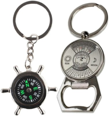 Alexus Compass And Calender Key Chain