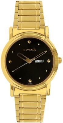 Sonata NH1141YM14 Essentials Analog Watch  - For Men