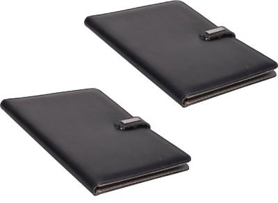 COI Faux Leather Modern Black File Folder / Document Folder