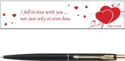 Parker Classic Valentine Edition Matte Black GT Ball Pen