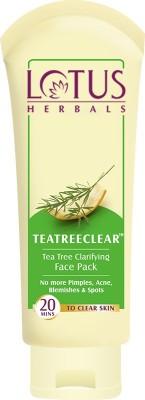 Lotus Herbals TEATREECLEAR Tea Tree Clarifying Face Pack