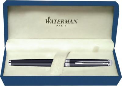 Waterman Hemisphere Matt Black CT (Medium Nib) Fountain Pen