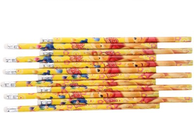 Parteet Pack of 6 Box Extra Dark High Quality pencils With Eraser for Kids Pencil