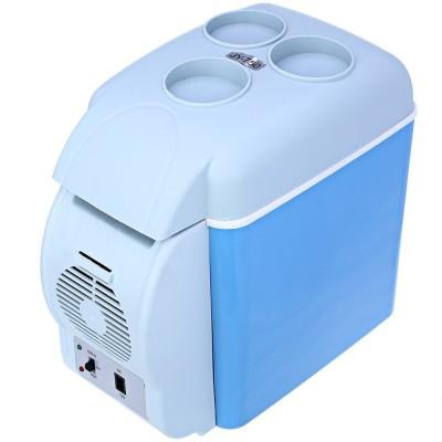 IBS AT9 12v Portable Mini Travel Vehicle Electric Multi-Function Cooler Freezer Warmer Fridge 7.5 L Car Refrigerator