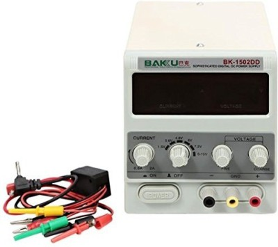 BAKKU BK 1502DD Sophisticated Regulated DC Power Supply Power Supply 15 volt 2.1 Amp Digital LED Screen 430 Watts PSU