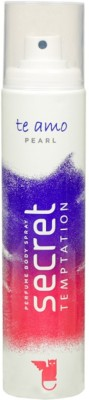 Secret Temptation Pearl Perfume Body Spray  -  For Women