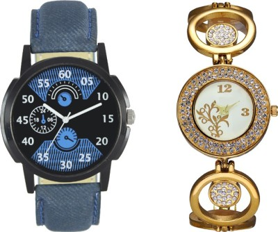 SRK ENTERPRISE New Couple Watch With Stylish And Designer-Fresh Arrival Collection 12 Watch  - For Men & Women