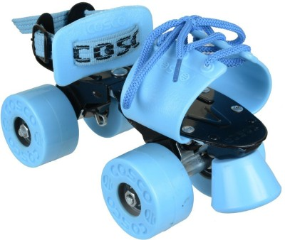 Cosco Zoomer Sr. (19.5 - 26.5 cm) Age Group (8+ Years) Quad Roller Skates - Size Kids 12 - Adults 8 UK