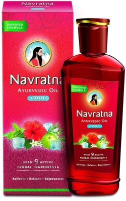Navratna Cool Ayurvedic Hair Oil