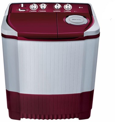 LG 7 kg Semi Automatic Top Load Washing Machine Maroon