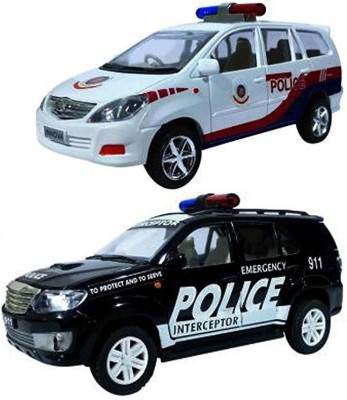 CENTY Police Interceptor Pack of 2 cars