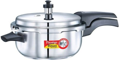 Prestige Deluxe Alpha Deep Pan 3.5 L Pressure Cooker with Induction Bottom