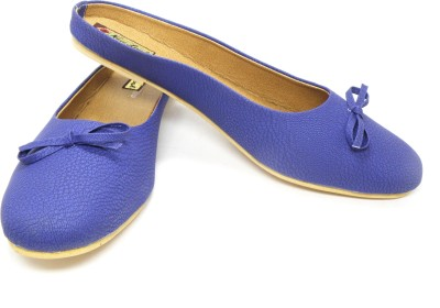 LooksFootwear Women Blue Bellies