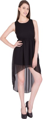 G & M Collections Women Blouson Black Dress