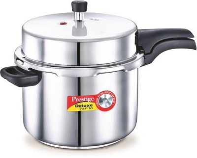 Prestige Deluxe Alpha 8 L Pressure Cooker with Induction Bottom