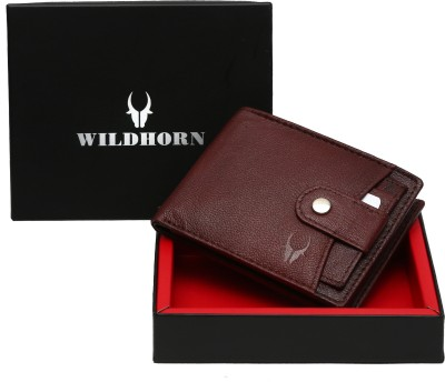 WildHorn Men Casual, Trendy Brown Genuine Leather Wallet