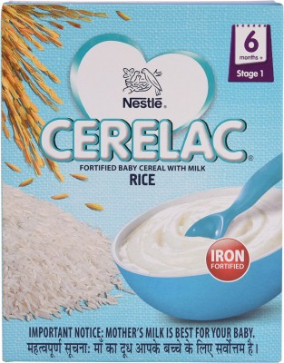 Nestle Cerelac Rice (Stage 1) Cereal