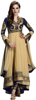 Mert India Cotton Embroidered, Embellished Salwar Suit Material