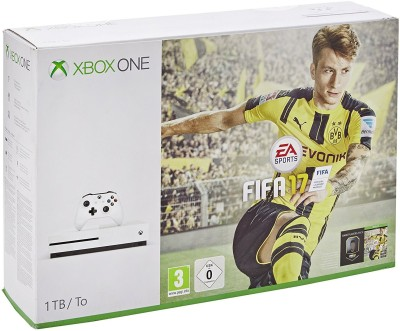 Microsoft Xbox One S 1 TB Console 1000 GB with FIFA 17