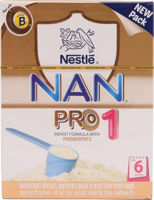 Nestle Nan Pro Infant Formula (Stage 1)