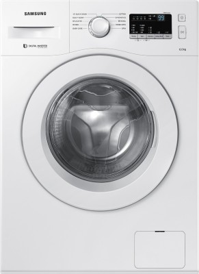 Samsung 6 kg Fully Automatic Front Load Washing Machine White