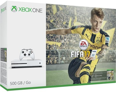 Microsoft Xbox One S Console 500 GB withFifa 17